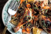Sweet & Spicy Roast Chicken
